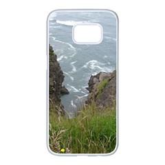 Pacific Ocean 2 Samsung Galaxy S7 edge White Seamless Case