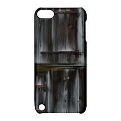 Alpine Hut Almhof Old Wood Grain Apple Ipod Touch 5 Hardshell Case With Stand