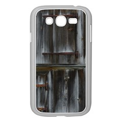 Alpine Hut Almhof Old Wood Grain Samsung Galaxy Grand Duos I9082 Case (white)