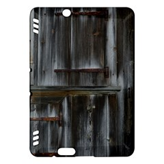 Alpine Hut Almhof Old Wood Grain Kindle Fire Hdx Hardshell Case