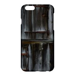 Alpine Hut Almhof Old Wood Grain Apple iPhone 6 Plus/6S Plus Hardshell Case