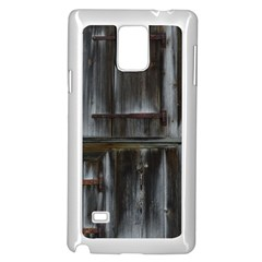 Alpine Hut Almhof Old Wood Grain Samsung Galaxy Note 4 Case (white)