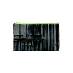 Alpine Hut Almhof Old Wood Grain Cosmetic Bag (XS)
