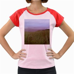 Pacific Ocean  Women s Cap Sleeve T-Shirt