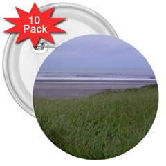 Pacific Ocean  3  Buttons (10 pack)