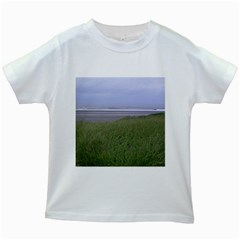 Pacific Ocean  Kids White T-Shirts