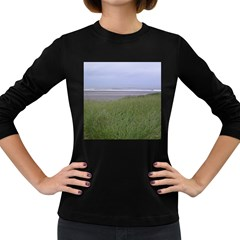 Pacific Ocean  Women s Long Sleeve Dark T-Shirts