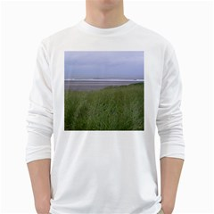 Pacific Ocean  White Long Sleeve T-Shirts