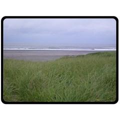 Pacific Ocean  Fleece Blanket (Large)