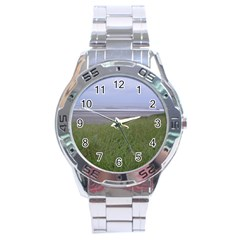 Pacific Ocean  Stainless Steel Analogue Watch