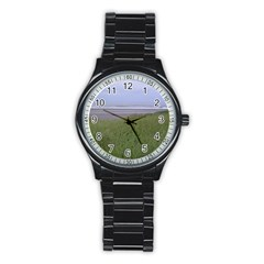 Pacific Ocean  Stainless Steel Round Watch