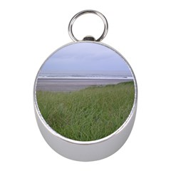 Pacific Ocean  Mini Silver Compasses