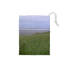 Pacific Ocean  Drawstring Pouches (Small)