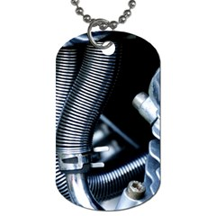 Motorcycle Details Dog Tag (Two Sides)