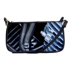 Motorcycle Details Shoulder Clutch Bags
