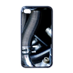 Motorcycle Details Apple iPhone 4 Case (Black)