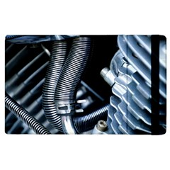 Motorcycle Details Apple Ipad 3/4 Flip Case