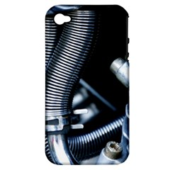 Motorcycle Details Apple iPhone 4/4S Hardshell Case (PC+Silicone)