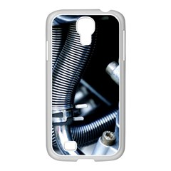 Motorcycle Details Samsung GALAXY S4 I9500/ I9505 Case (White)