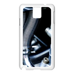 Motorcycle Details Samsung Galaxy Note 3 N9005 Case (White)