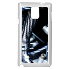 Motorcycle Details Samsung Galaxy Note 4 Case (White)