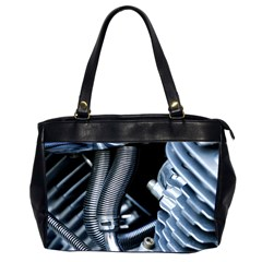 Motorcycle Details Office Handbags (2 Sides)