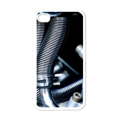 Motorcycle Details Apple iPhone 4 Case (White)