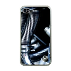 Motorcycle Details Apple Iphone 4 Case (clear)