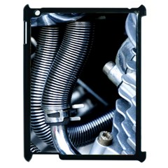Motorcycle Details Apple iPad 2 Case (Black)
