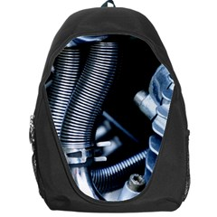 Motorcycle Details Backpack Bag