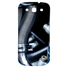 Motorcycle Details Samsung Galaxy S3 S III Classic Hardshell Back Case