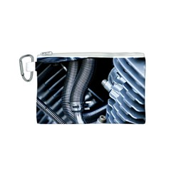 Motorcycle Details Canvas Cosmetic Bag (s)