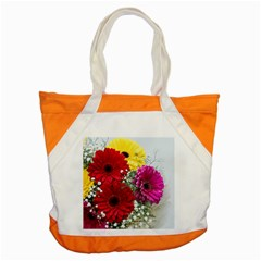 Flowers Gerbera Floral Spring Accent Tote Bag