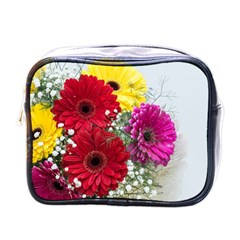 Flowers Gerbera Floral Spring Mini Toiletries Bags