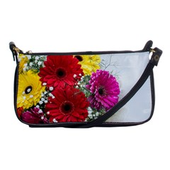 Flowers Gerbera Floral Spring Shoulder Clutch Bags