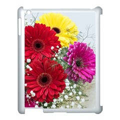 Flowers Gerbera Floral Spring Apple Ipad 3/4 Case (white)