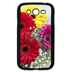 Flowers Gerbera Floral Spring Samsung Galaxy Grand Duos I9082 Case (black)
