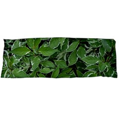 Texture Leaves Light Sun Green Body Pillow Case (dakimakura)