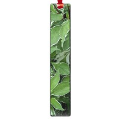 Texture Leaves Light Sun Green Large Book Marks