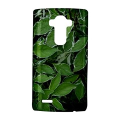 Texture Leaves Light Sun Green LG G4 Hardshell Case