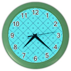Pattern Background Texture Color Wall Clocks