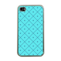 Pattern Background Texture Apple iPhone 4 Case (Clear)