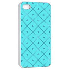 Pattern Background Texture Apple Iphone 4/4s Seamless Case (white)
