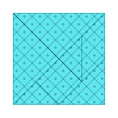 Pattern Background Texture Acrylic Tangram Puzzle (6  x 6 )