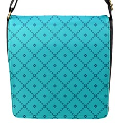 Pattern Background Texture Flap Messenger Bag (S)