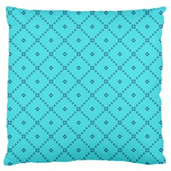 Pattern Background Texture Large Flano Cushion Case (One Side)