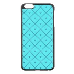Pattern Background Texture Apple iPhone 6 Plus/6S Plus Black Enamel Case