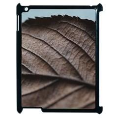 Leaf Veins Nerves Macro Closeup Apple iPad 2 Case (Black)