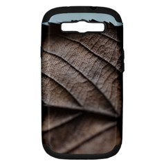 Leaf Veins Nerves Macro Closeup Samsung Galaxy S Iii Hardshell Case (pc+silicone)
