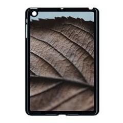 Leaf Veins Nerves Macro Closeup Apple iPad Mini Case (Black)